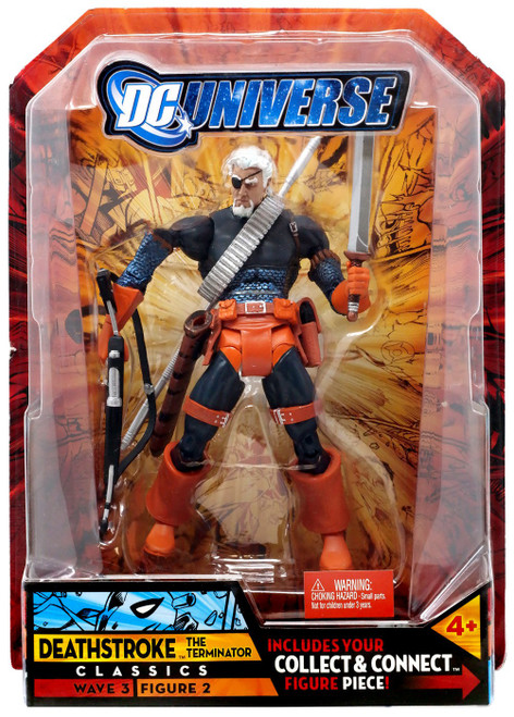DC Universe Classics Wave 3 Build Solomon Grundy Deathstroke Action Figure #2 [Unmasked]