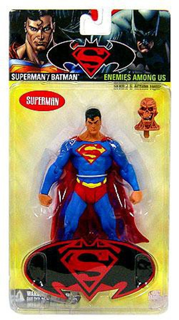 DC Superman Batman Series 6 Enemies Among Us Superman Action Figure