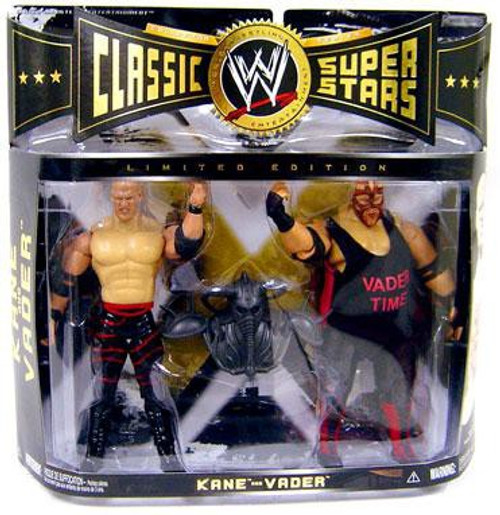 WWE Wrestling Classic Superstars Kane vs. Vader Exclusive Action Figure 2-Pack