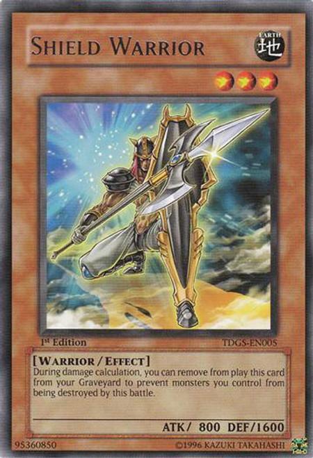 YuGiOh The Duelist Genesis Rare Shield Warrior TDGS-EN005