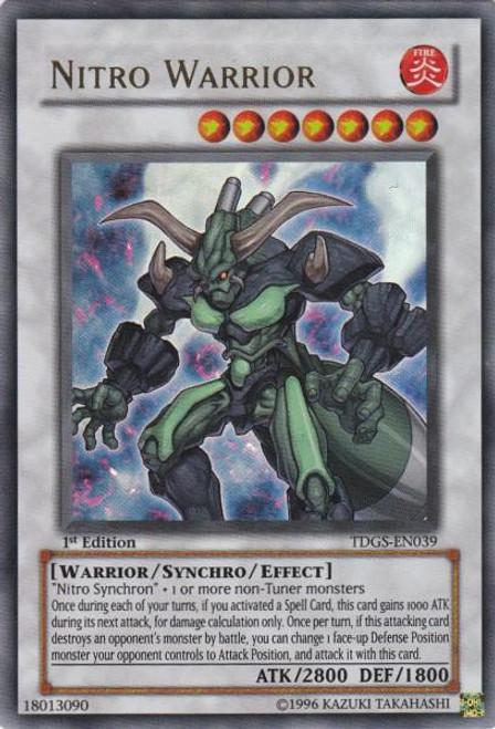 YuGiOh The Duelist Genesis Ultra Rare Nitro Warrior TDGS-EN039