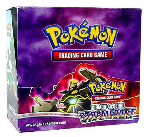 Pokemon Trading Card Game Diamond & Pearl Stormfront Booster Box [36 Packs]