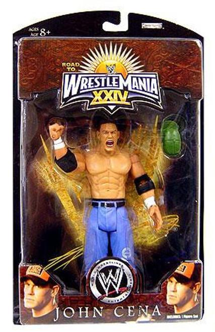WWE Wrestling Road to WrestleMania 24 Series 3 John Cena Exclusive Action Figure
