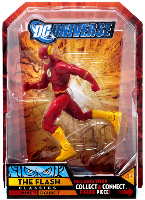 DC Universe Classics Atom Smasher Series The Flash Action Figure #7