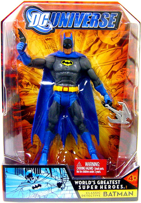 DC Universe Classics Wave 1 Crime Stopper Batman Action Figure [Does Not Come With Builder Piece!]