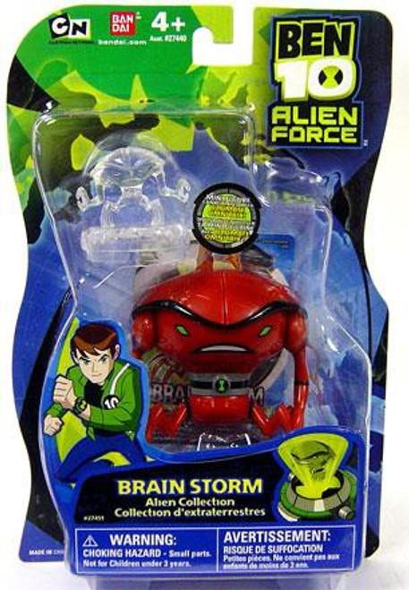 Ben 10 Alien Force Alien Collection Brain Storm Action Figure