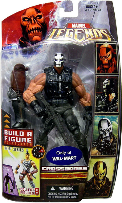 Marvel Legends Ares Build a Figure Crossbones Exclusive Action Figure