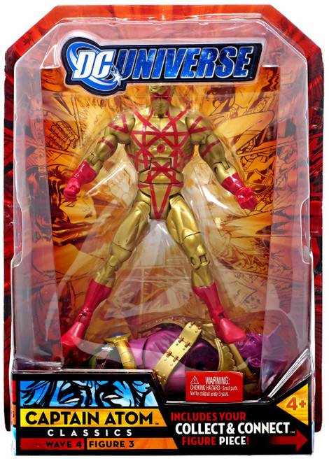 DC Universe Classics Despero Series Captain Atom Action Figure #3 [Gold]