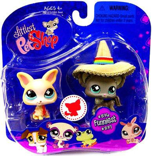 Littlest Pet Shop 2009 Assortment B Series 2 Chihuahua Figure 2-Pack #836, 837