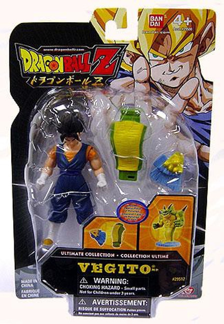 Dragon Ball Z Ultimate Collection Vegito 4-Inch PVC Figure [Build Porunga Dragon Piece]