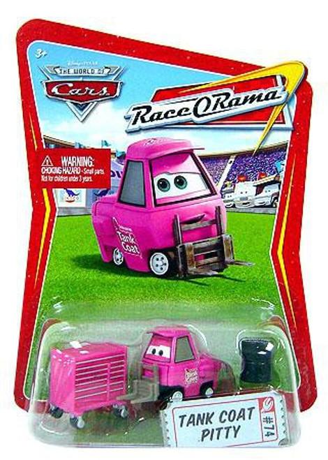 Disney / Pixar Cars The World of Cars Race-O-Rama Tank Coat Pitty Diecast Car #74