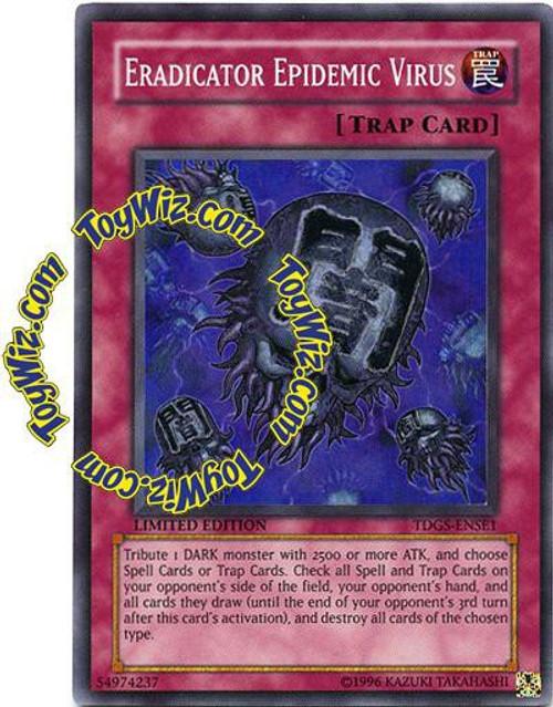 YuGiOh The Duelist Genesis Special Edition Super Rare Eradicator Epidemic Virus TDGS-ENSE1