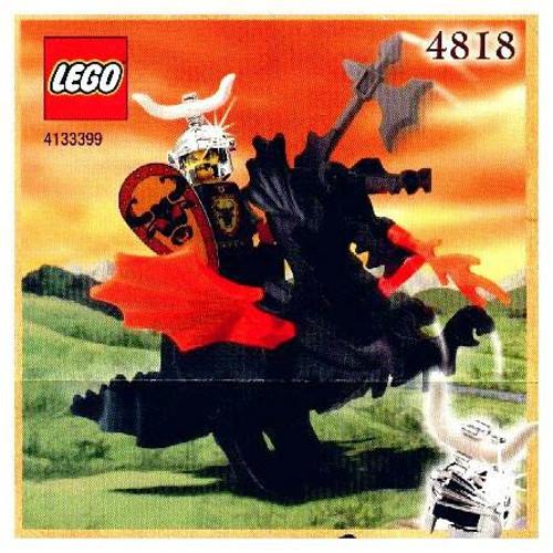 LEGO Knights Kingdom Dragon Rider Exclusive Set #4818