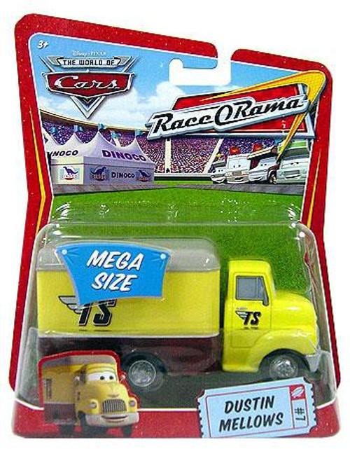Disney / Pixar Cars The World of Cars Race-O-Rama Dustin Mellows Diecast Car #7