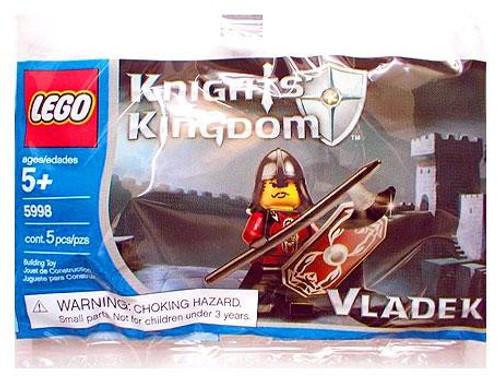 LEGO Knights Kingdom Vladek Mini Set #5998 [Bagged]