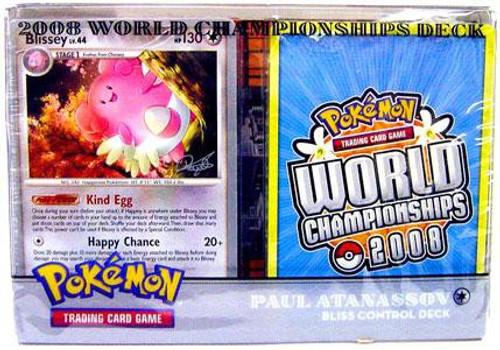 Pokemon Trading Card Game World Championships Deck 2008 Paul Atanasson's Blissey Control Deck