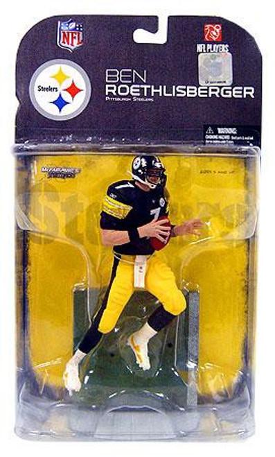 McFarlane Toys NFL Pittsburgh Steelers Sports Picks Series 18 Ben Roethlisberger Action Figure [Clean Uniform Variant]