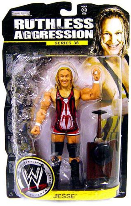 WWE Wrestling Ruthless Aggression Series 38 Jesse Action Figure