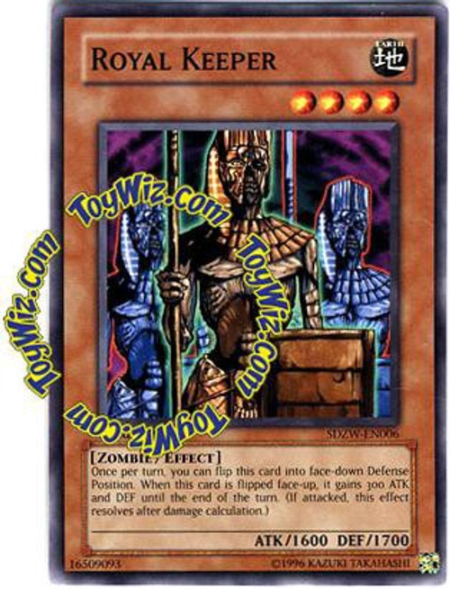 YuGiOh Structure Deck: Zombie World Common Royal Keeper SDZW-EN006