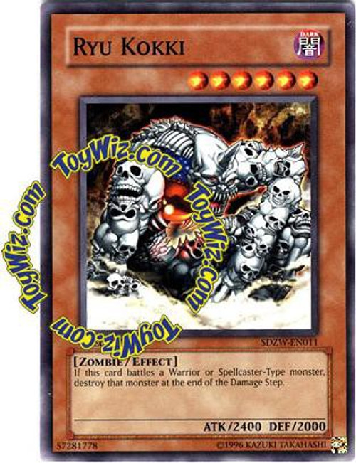 YuGiOh Structure Deck: Zombie World Common Ryu Kokki SDZW-EN011