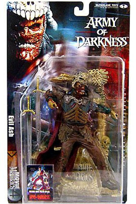 McFarlane Toys Evil Dead Army of Darkness Movie Maniacs Series 4 Evil Ash Action Figure