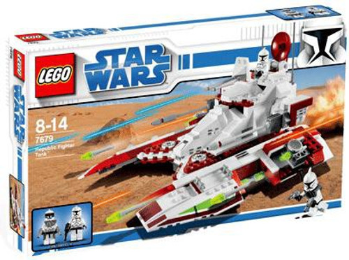 LEGO Star Wars The Clone Wars Republic Fighter Tank Exclusive Set #7679