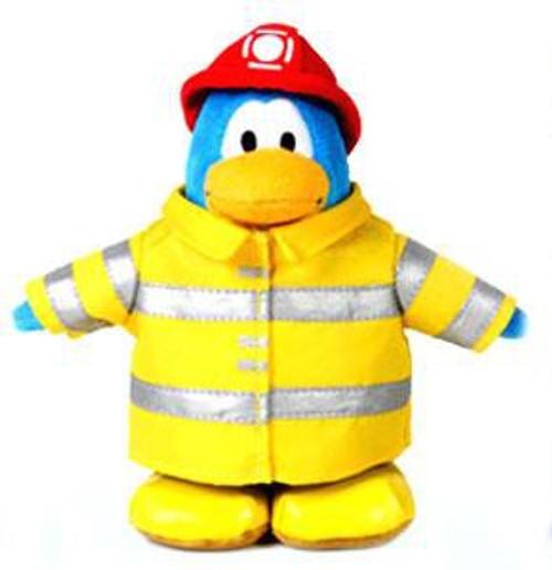 Club Penguin Firefighter 6.5-Inch Plush Figure