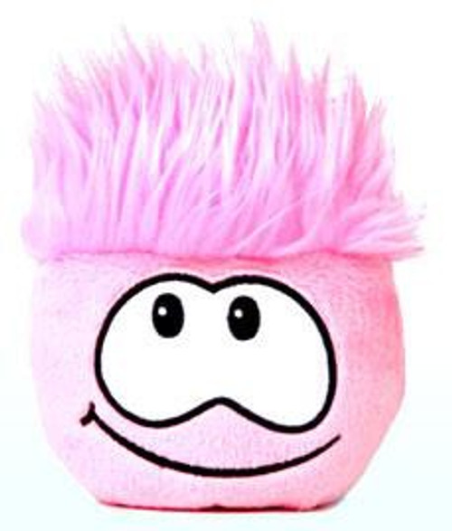 Club Penguin Pink Puffle 4-Inch Plush