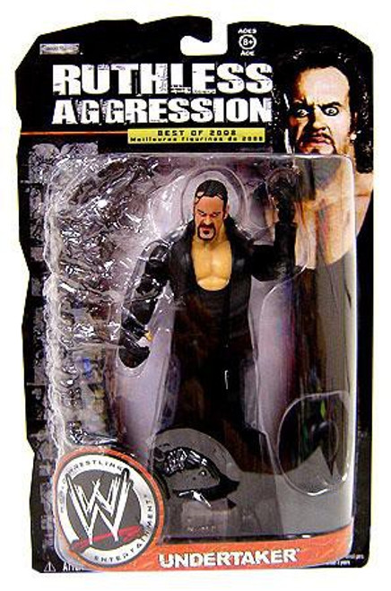 WWE Wrestling Ruthless Aggression Best of 2008 Series 1 Undertaker Action Figure