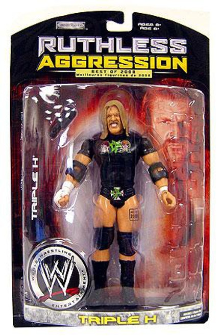 WWE Wrestling Ruthless Aggression Best of 2008 Series 1 Triple H Action Figure