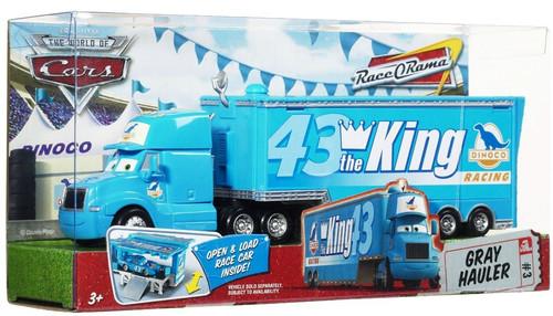 Disney / Pixar Cars The World of Cars Race-O-Rama The King's Gray Hauler Diecast Car