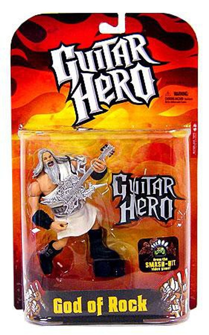 McFarlane Toys Guitar Hero God of Rock Action Figure [White Robe]