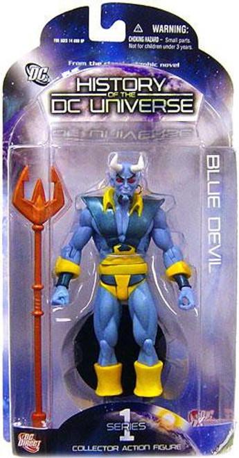 History of the DC Universe Series 1 Blue Devil Action Figure