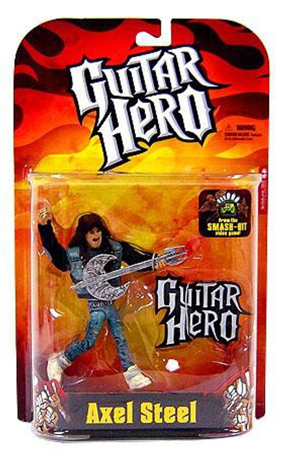 McFarlane Toys Guitar Hero Axel Steel Action Figure [Spawn Shirt]