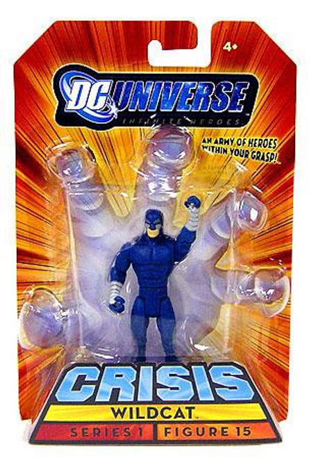 DC Universe Crisis Series 1 Wildcat Action Figure #15