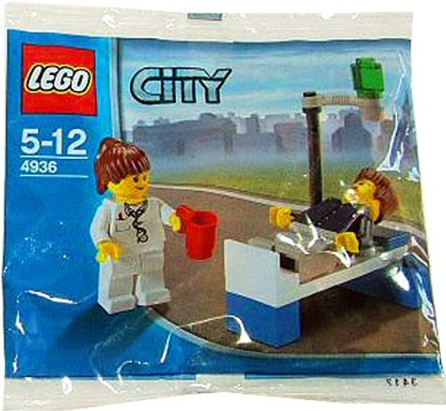 LEGO City Doctor & Patient Set #4936 [Bagged]