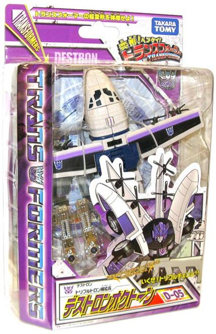 Transformers Japanese Classics Henkei Deluxe Octane Deluxe Action Figure Set D-05