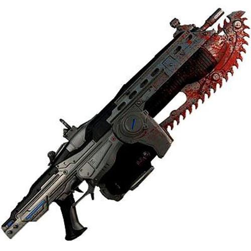 NECA Gears of War Lancer 36-Inch Prop Replica [Bloody Version]