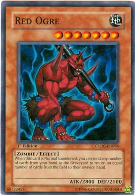 YuGiOh Crossroads of Chaos Super Rare Red Ogre CSOC-EN096