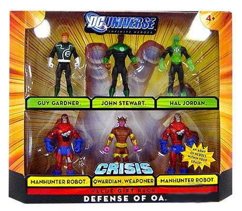 DC Universe Crisis Infinite Heroes Defense of OA Exclusive Action Figure Set