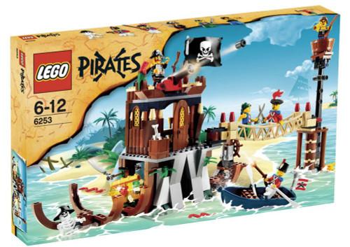 LEGO Pirates Shipwreck Hideout Exclusive Set #6253