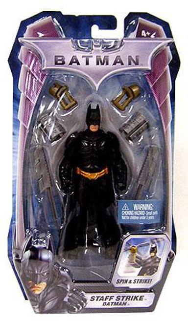 The Dark Knight Batman Action Figure [Staff Strike]