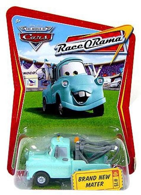 Disney / Pixar Cars The World of Cars Race-O-Rama Brand New Mater Diecast Car #19