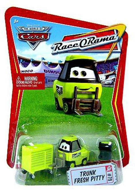 Disney / Pixar Cars The World of Cars Race-O-Rama Trunk Fresh Pitty Diecast Car #79