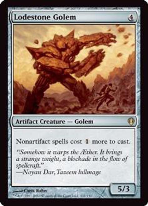MtG Archenemy Rare Lodestone Golem #111