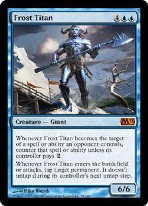 MtG 2011 Core Set Mythic Rare Frost Titan #55