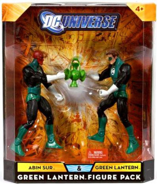 DC Universe Abin Sur & Green Lantern Exclusive Action Figures