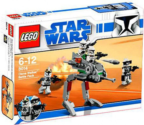 LEGO Star Wars The Clone Wars Clone Walker Battle Pack Set #8014