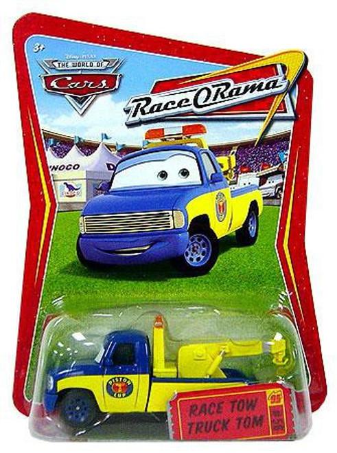 Disney / Pixar Cars The World of Cars Race-O-Rama Race Tow Truck Tom Diecast Car #56