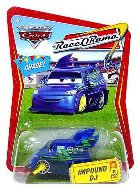 Disney / Pixar Cars The World of Cars Race-O-Rama Impound DJ Diecast Car #84